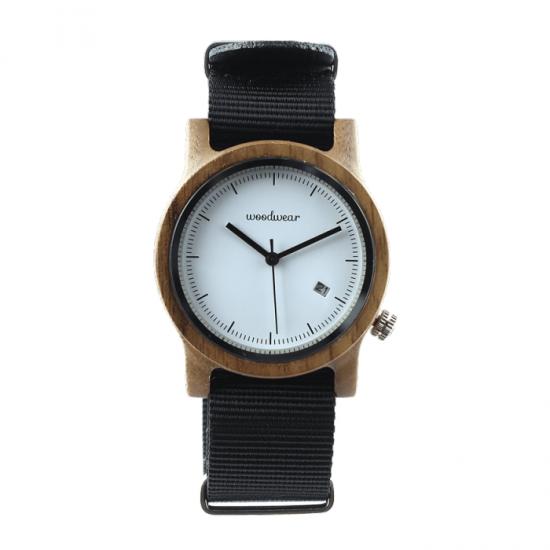 Dámske drevené hodinky - Spectro Black
