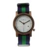 Dámske drevené hodinky - Spectro Blue/Green
