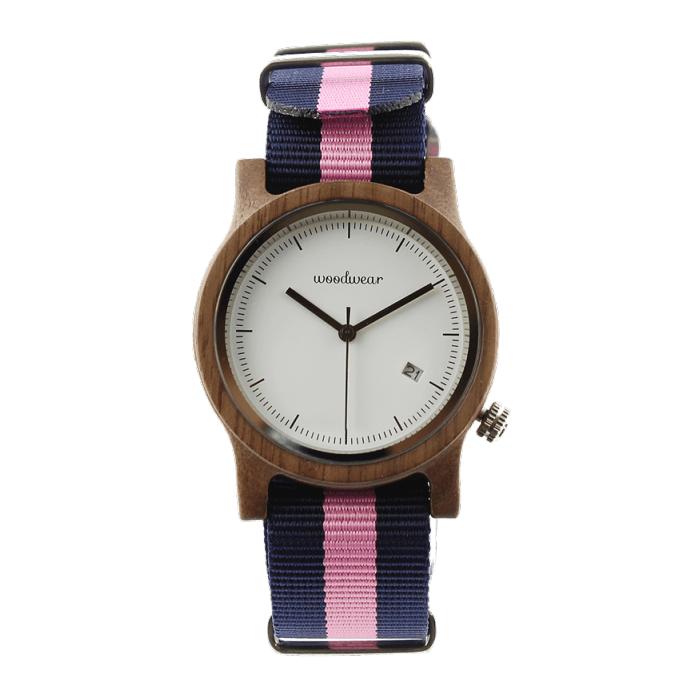 Dámske drevené hodinky - Spectro Blue/Pink