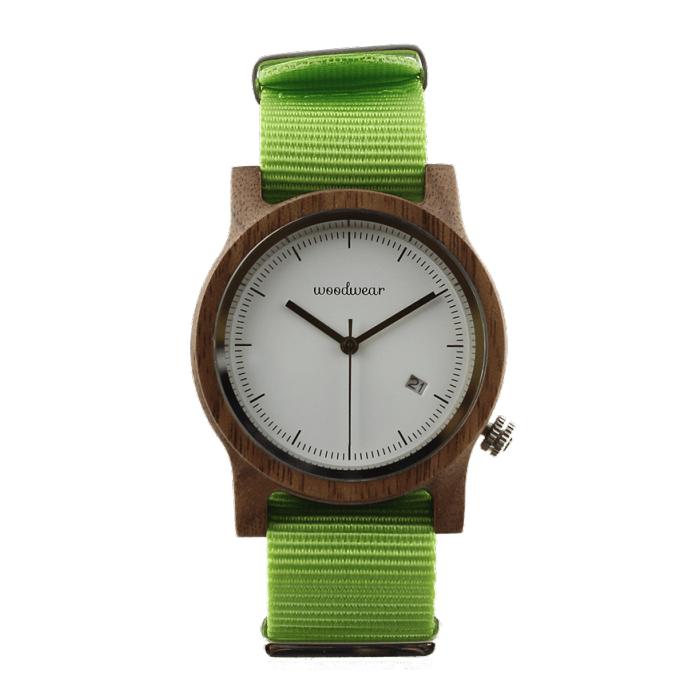 Dámske drevené hodinky - Spectro Lime