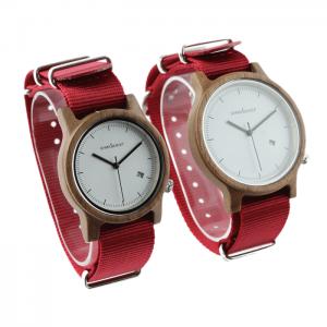 Dámske drevené hodinky - Spectro Purple