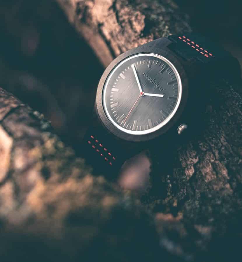 Drevené hodinky - Gareth
