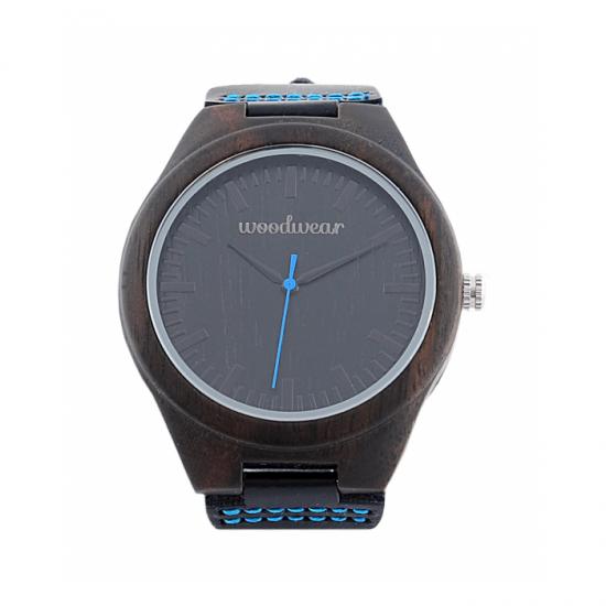 Pánske drevené hodinky - Gold Coast
