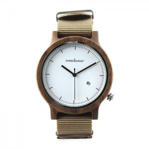 Pánske drevené hodinky - Spectro Beige