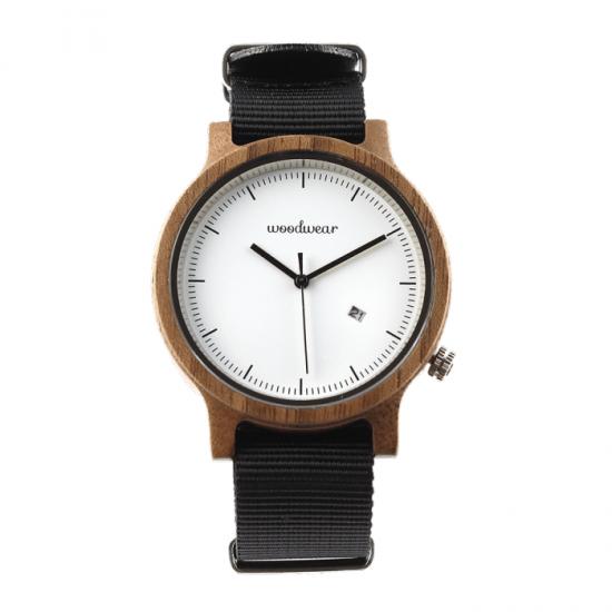 Pánske drevené hodinky - Spectro Black