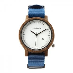 Pánske drevené hodinky - Spectro Blue