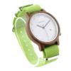 Pánske drevené hodinky - Spectro Lime