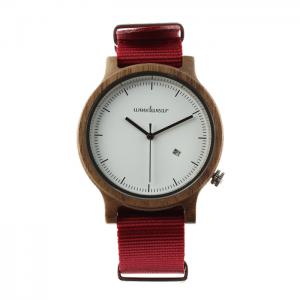 Pánske drevené hodinky - Spectro Purple