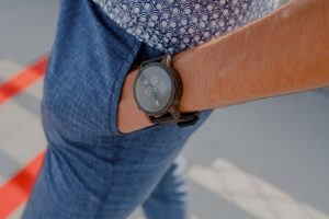 Pánske drevené hodinky - Craveman