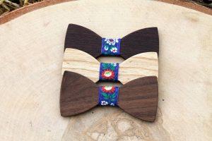 Detský folklórny motýlik – Modrý - Jaseň