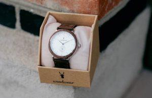 Drevené hodinky - Norman