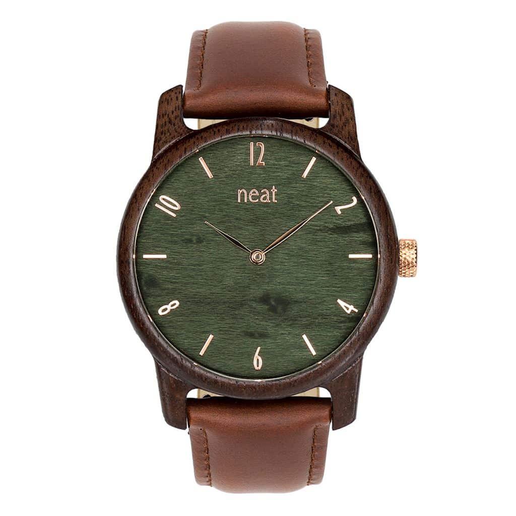 Pánske hodinky Slim - Zelené