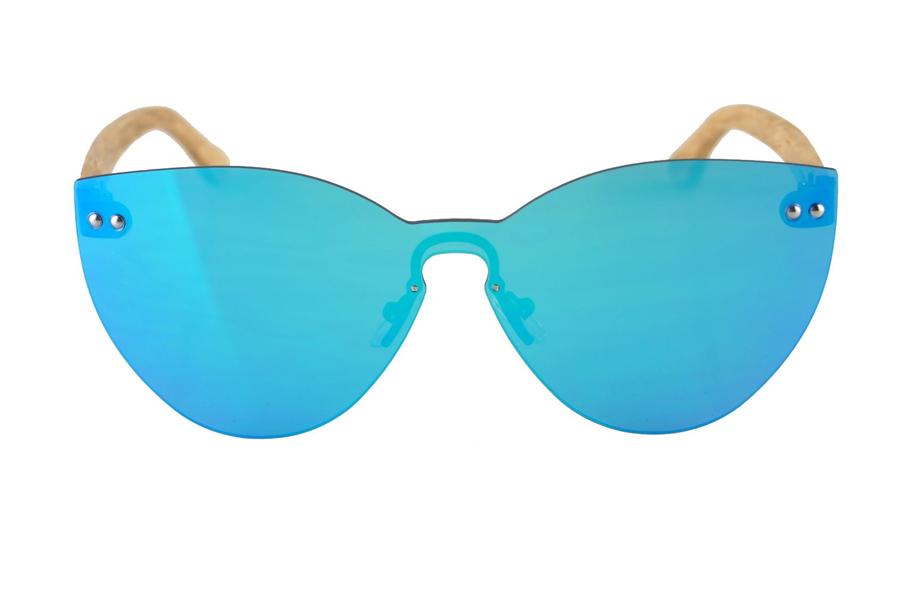Drevené okuliare Alysha – Sky