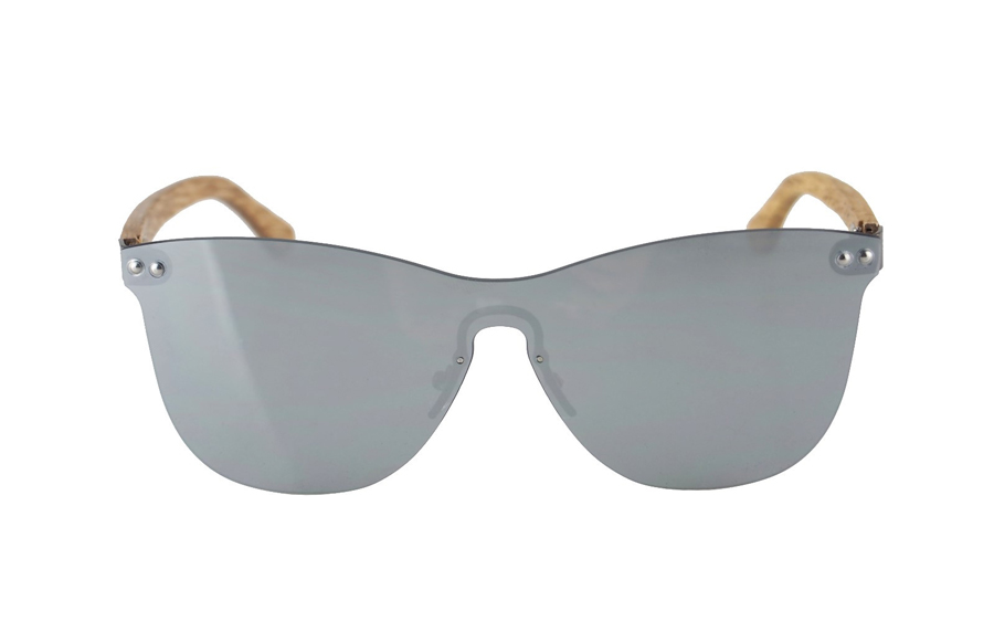 Drevené okuliare Gary - Iron