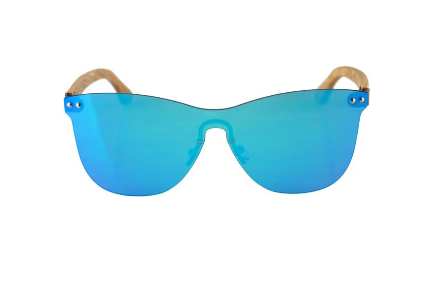 Drevené okuliare Gary - Sky