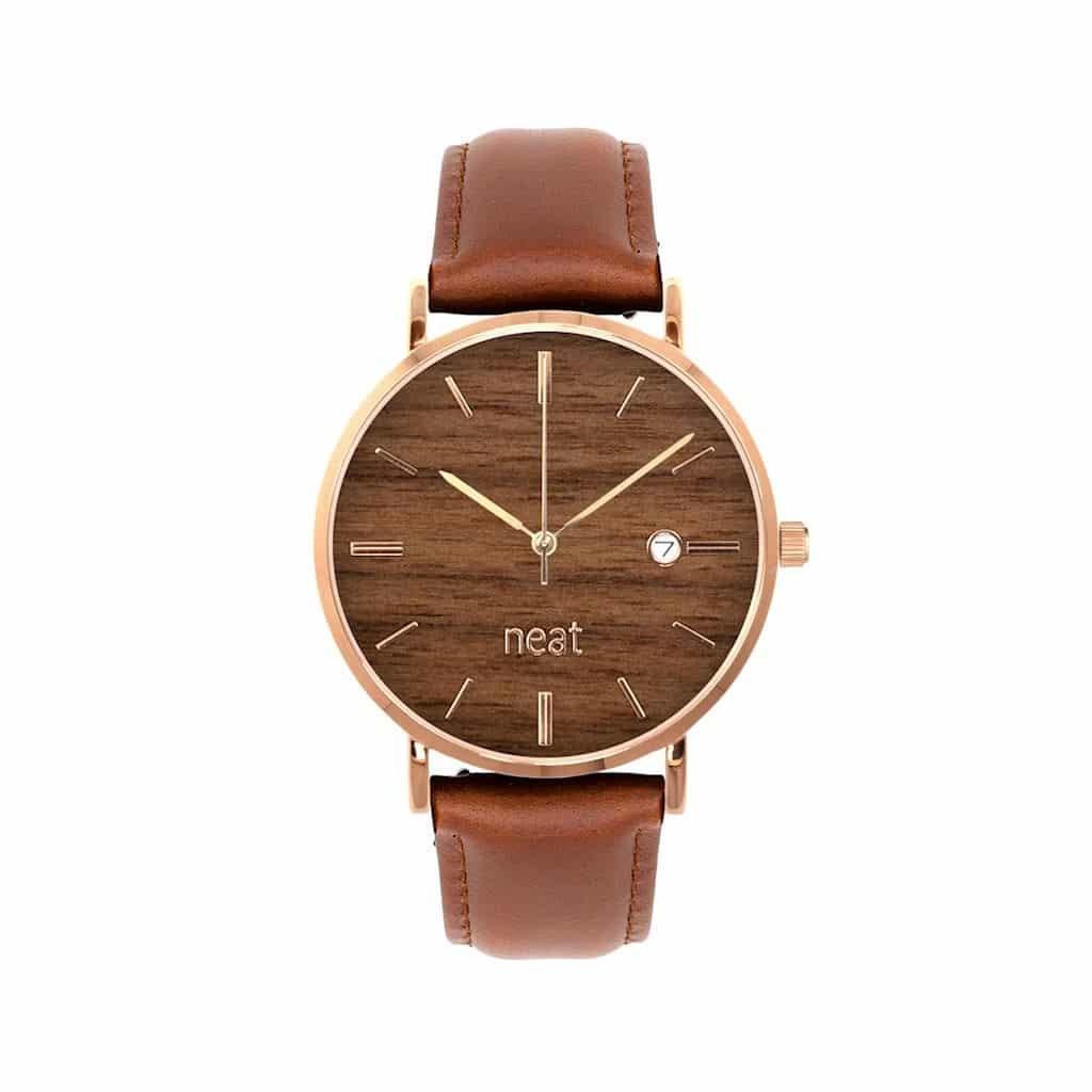 Dámske hodinky Elegance – Hnedé