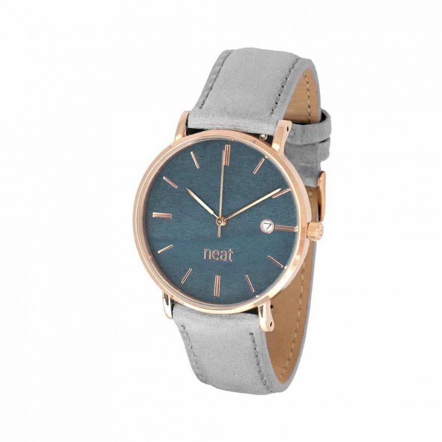 Dámske hodinky Elegance – Modro šedé
