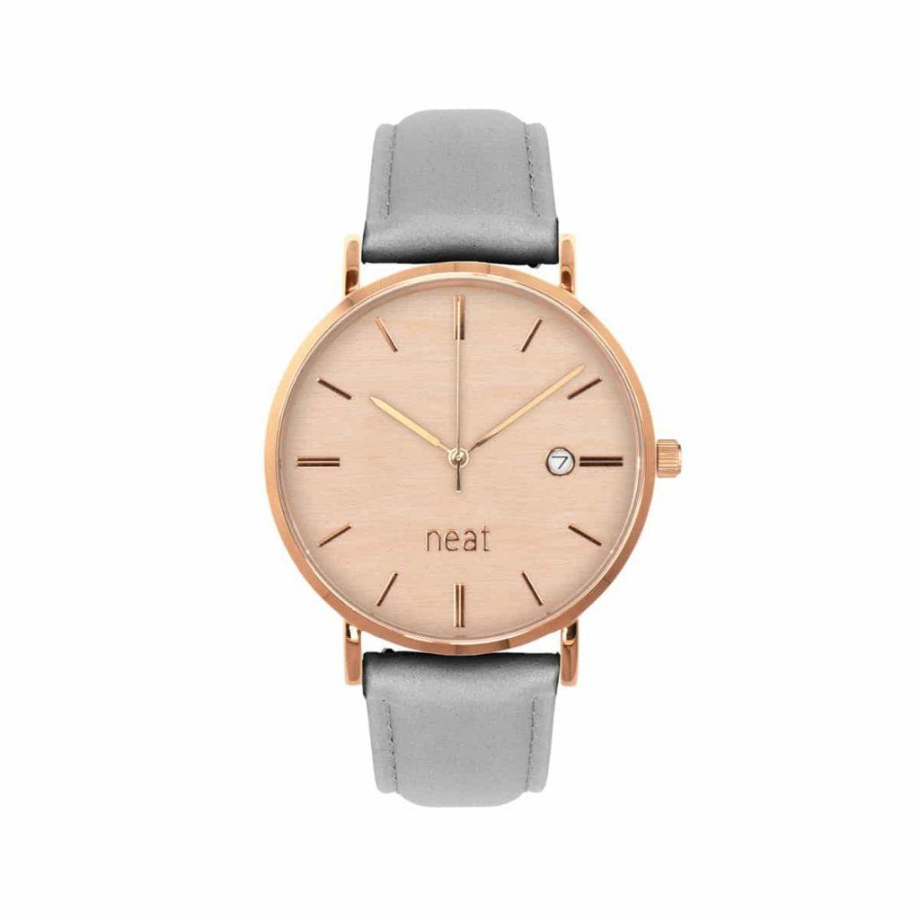 Dámske hodinky Elegance – Ružovo šedé