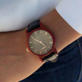 Dámske hodinky Slim – Čierno zlaté