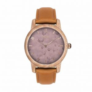 Dámske hodinky Slim – Škoricovo fialové