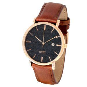 Pánske hodinky Elegant – Čierno zlaté