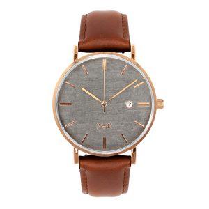 Pánske hodinky Elegant – Šedo zlaté