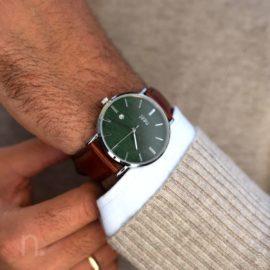 Pánske hodinky Elegant – Zelené