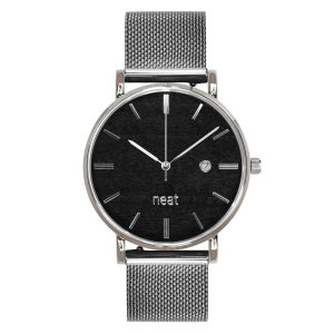 Pánske hodinky Exclusive – Čierno strieborné