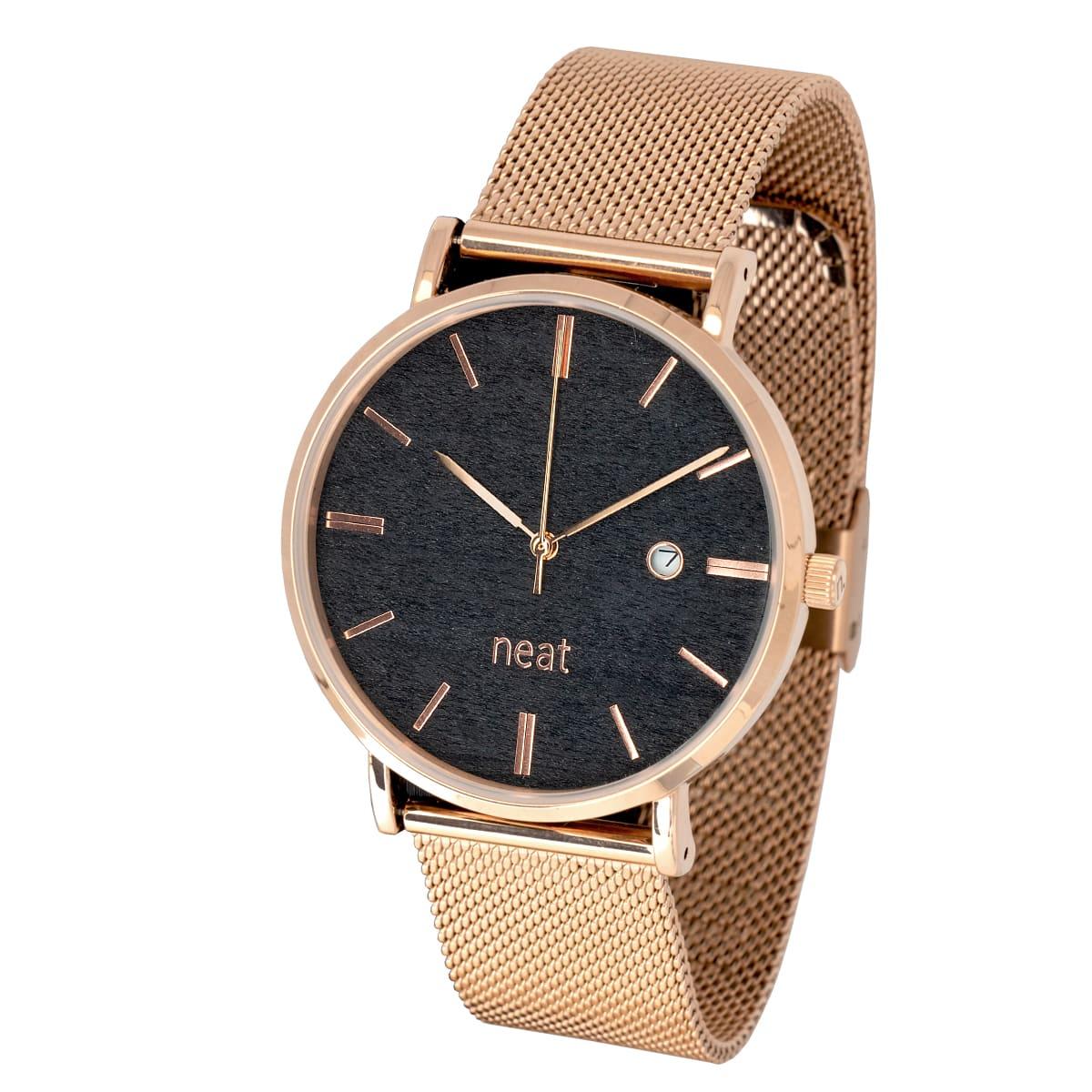 Pánske hodinky Exclusive – Čierno ztaté