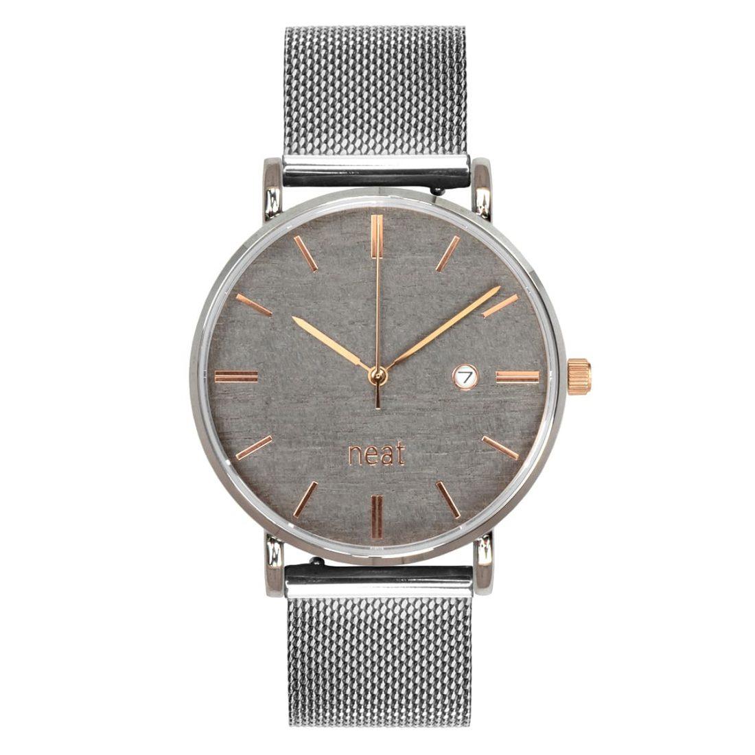 Pánske hodinky Exclusive – Šedo strieborné