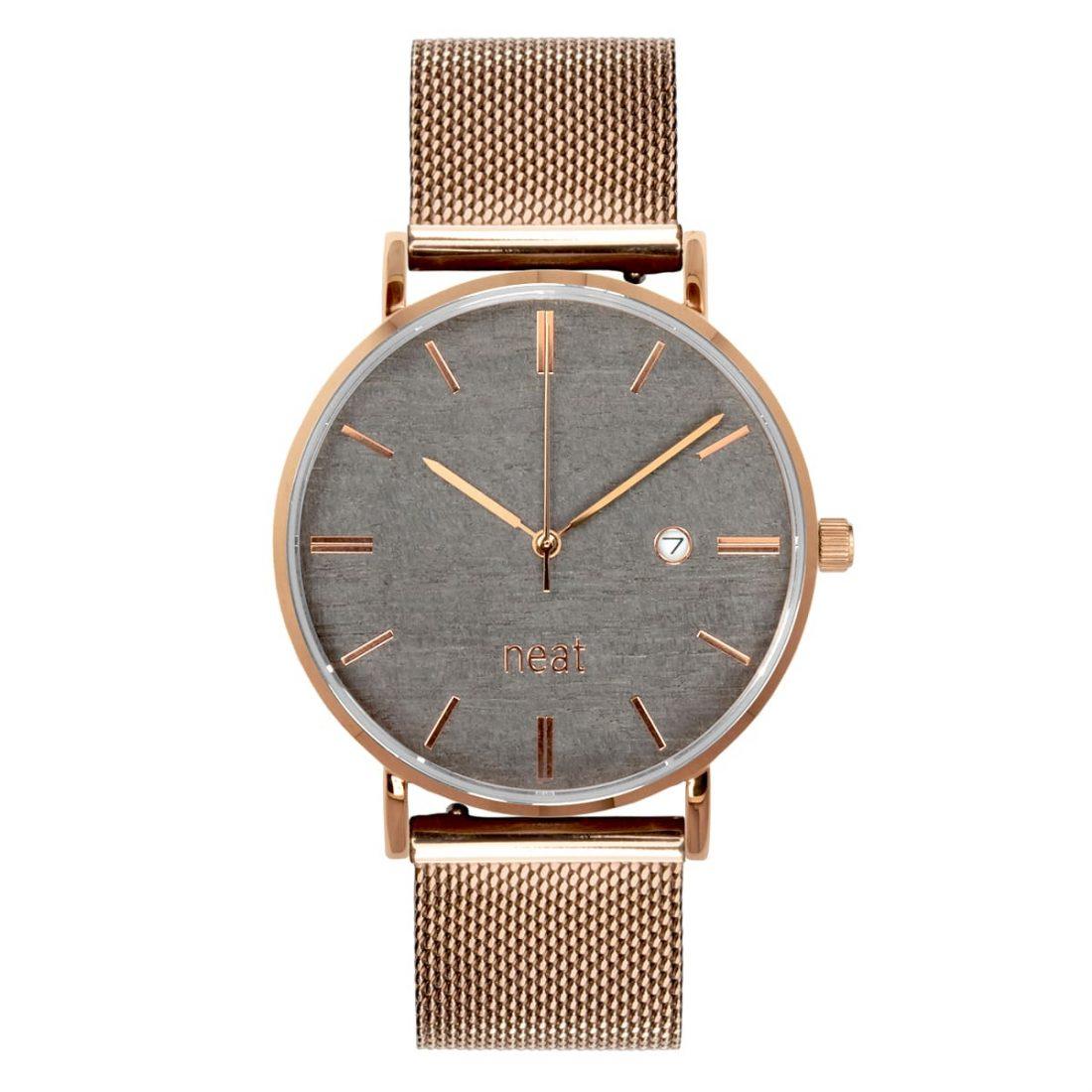 Pánske hodinky Exclusive – Šedo zlaté