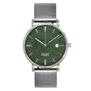 Pánske hodinky Exclusive – Zeleno strieborné