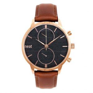 Pánske hodinky Steel Chrono – Čierno zlaté