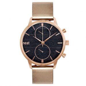 Pánske hodinky Steel Chrono – Zlaté
