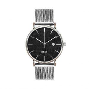 Dámske hodinky Exclusive – Čierno strieborné
