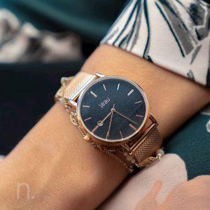 Dámske hodinky Exclusive – Čierno zlaté