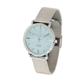 Dámske hodinky Exclusive – Modro strieborné