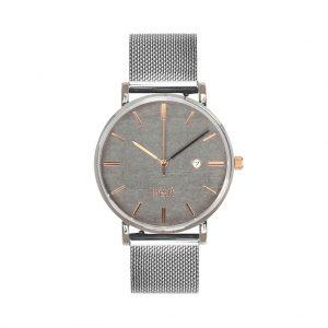Dámske hodinky Exclusive – Šedo strieborné