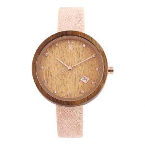 Dámske drevené hodinky - Lindsay